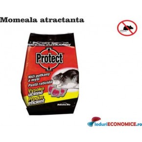 Momeala raticida sub forma de gel