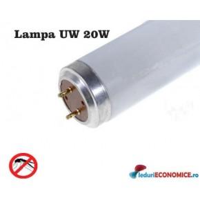 Lampa UV 20W pt. distrugatoare de insecte