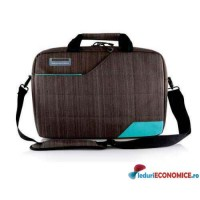 Geanta laptop 15.6 inch Modecom Montana Brown