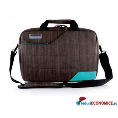 Geanta laptop 15.6 inch Modecom Montana Brown