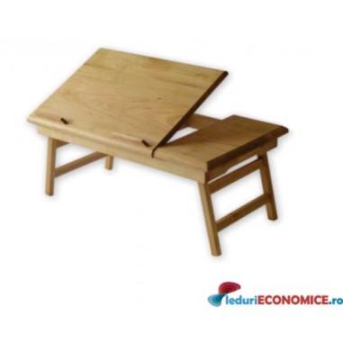 Masuta laptop din lemn Wood 15