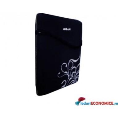 Husa laptop neagra Giban