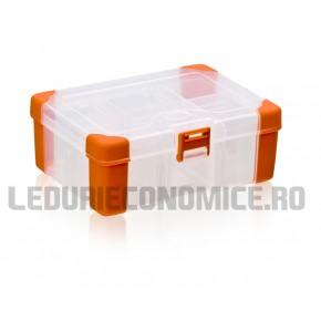 Cutie de stocare accesorii din plastic
