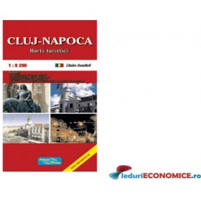 Harta pliata Cluj Napoca