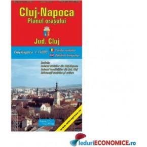 Cluj Napoca-Planul orasului