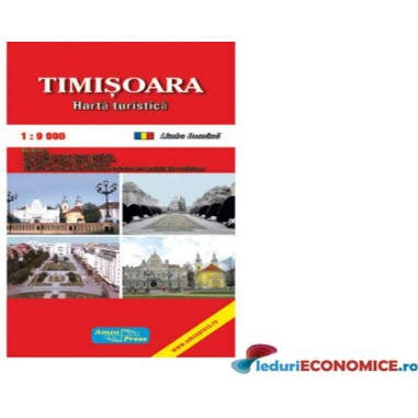 Harta pliata Timisoara