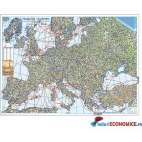 Europa-Harta Fizica