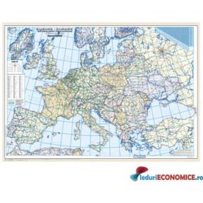 Europa-Harta politica