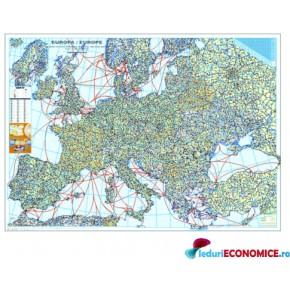 Europa-Harta Politica si rutiera