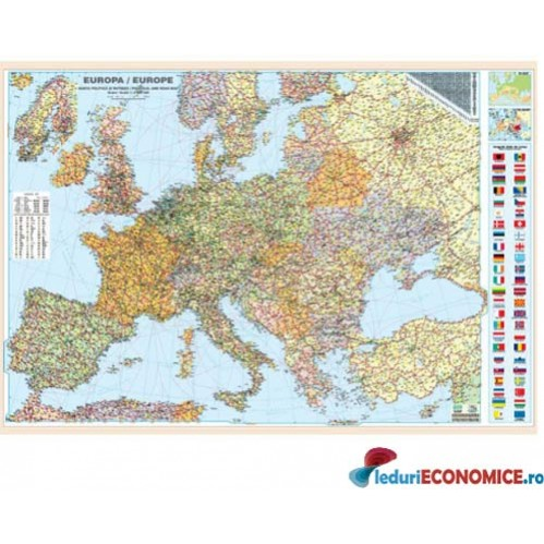 Europa Harta Rutiera