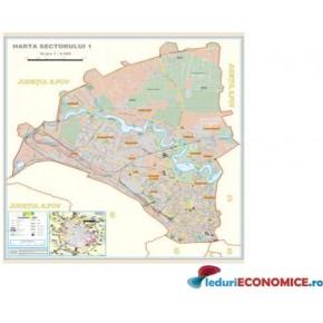 Harta Bucuresti Sector 1