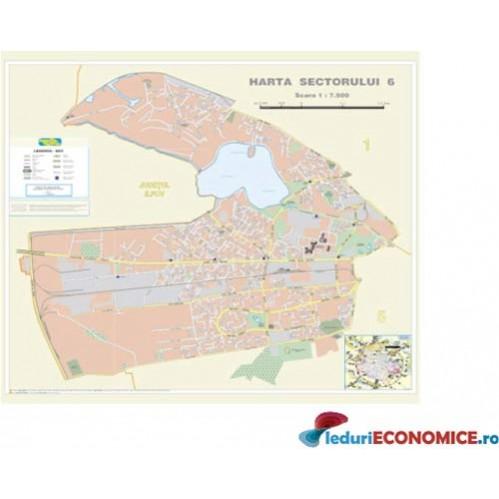 Harta Bucuresti Sector 6