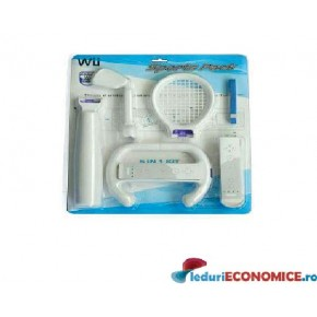 Kit 5 in 1 Sports Nintendo Wii