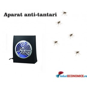 Aparat anti-insecte cu lampa UV (1x4W) si ventilator GE-4 30-50mp