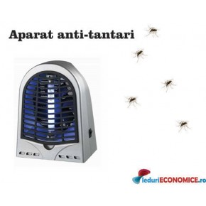 Aparat anti-insecte cu lampa UV (1x4W) si ventilator GH-4 50mp