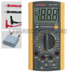 Multimetru digital - termometru - 25201