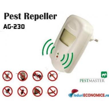 Pestmaster AG230 - Aparat universal impotriva gandacilor, rozatoarelor, soarecilor, sobolanilor, insectelor.