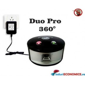 Noul Pestmaster DUO PRO anti daunatori cu ultrasunete (550mp)