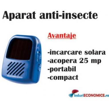 Aparat vario SOLAR blister (anti,soarec,sobolan,tantari,frecventa reglabila ptr.fiecare tip de daunator )