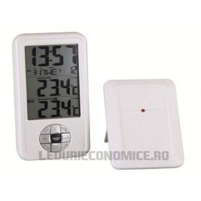 Statie digitala de temperaturi multifunctionala cu senzor de exterior wireless - 4594
