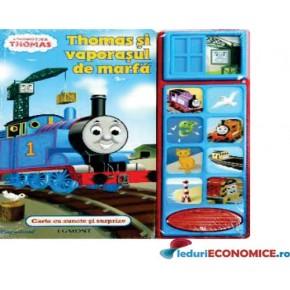 Carte cu sunete Thomas si Vaporasul de marfa