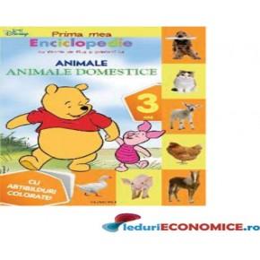 Cartea Enciclopedia mea-Animale Domestice