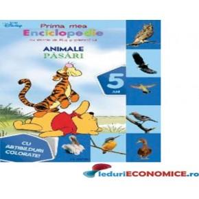 Cartea Enciclopedia mea-Pasari