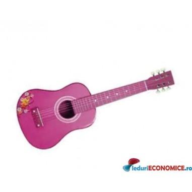 Chitara 65 cm., culoare roz