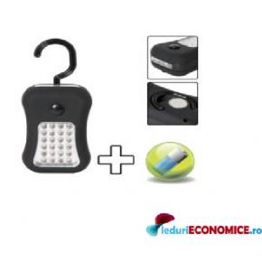 Lampa portabila cu 24+4 LED-uri