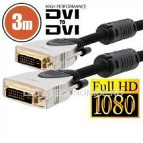 Cablu DVI Dual-link 3 m Profesional