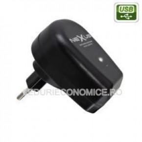 Adaptor cu actiunare �nterupator mufa USB si miniUSB