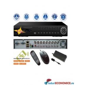 Sistem supraveghere 9308  Network 3G DVR