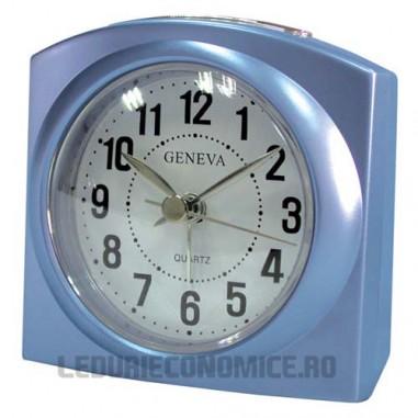 Ceas de birou cu quartz DEEP BLUE - Geneva L
