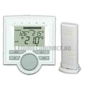 Set: Centru clima + senzor de temperatura radiocontrolat - TM 3280-RF