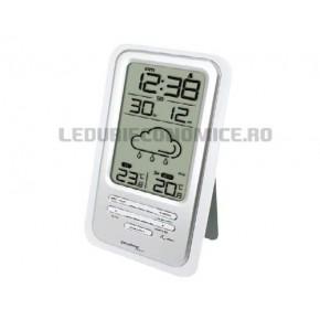 Statie meteo digitala cu afisaj LCD cu iconite pentru starea vremii - WS 6720