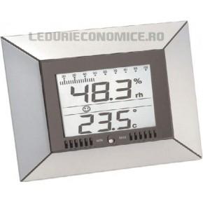 Statie digitala de birou pt. masurarea temperaturilor si umiditatii - WS 9410