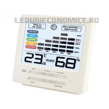 FRESH DESIGN! Statie temperaturi digitala cu display color si grafice ale valorilor masurate - WS 9420