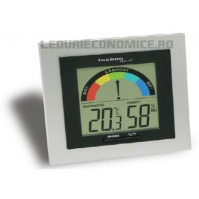 NOU! Statie digitala pentru masurarea temperaturilor si nivelului umiditatii cu afisaj LCD grafic color - WS 9430