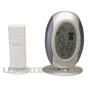 Statie de temperaturi digitala si afisaj grafic pentru interpretare usoara - WS9641 IT
