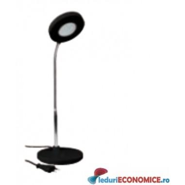 Lampa de birou cu LED neagra