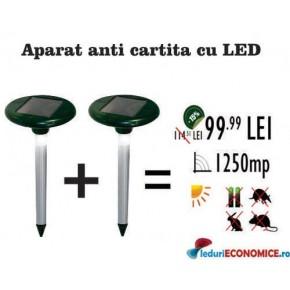 Pestmaster LED625 anti cartita soareci sobolani popandai iepuri dihori (OFERTA DE SEZON 2 buc la 119.99RON)