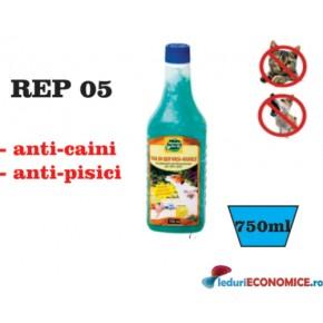 gel impotriva cainilor sau pisicilor (750ml)  REP05